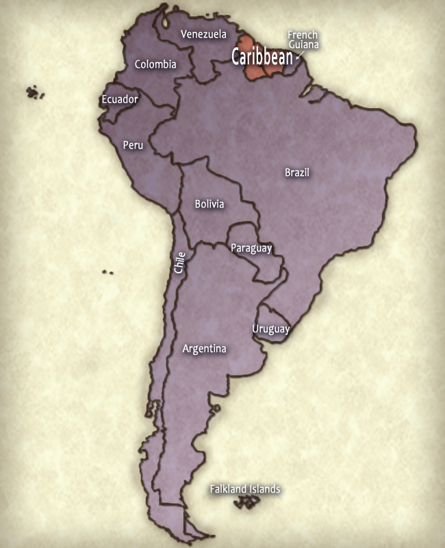 South America Aglow Region