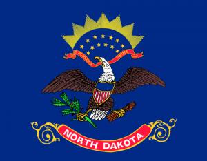 North Dakota flag